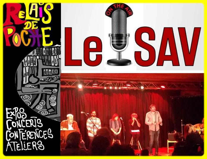 le S.A.V du «Relais de Poche» à Verniolle : la chanson française en vie !